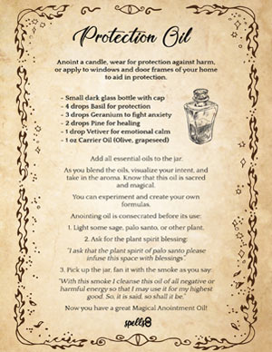 Magical Anointing Oil
