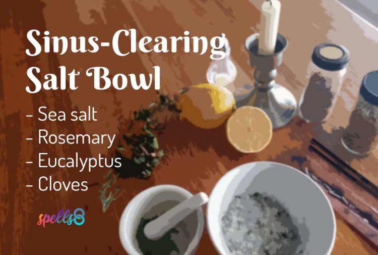 Sinus Clearing Healing Salt Bowl