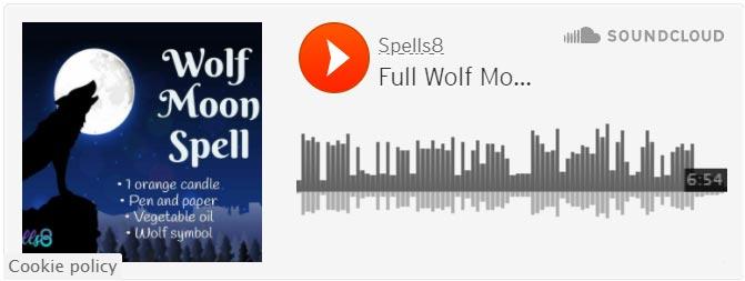 Full Wolf Moon Guided Meditation