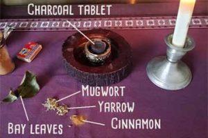 Mugwort Spell for Spiritual Growth