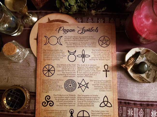 Witchy Cheat Sheets in PDF