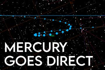 Mercury Goes Direct