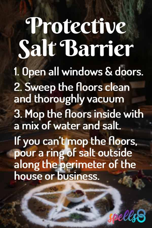 Salt barrier of protection