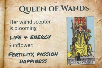 Queen of Wands Tarot meaning