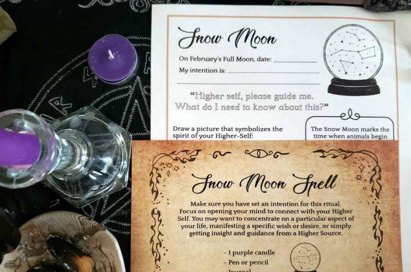 Snow Moon Ritual & Spell (February)
