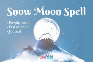 Snow Moon Spell