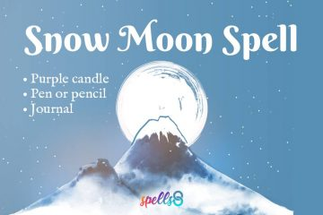 Snow Moon Spell