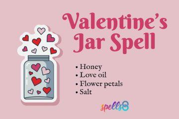 Valentine's Day Love Spell Jar