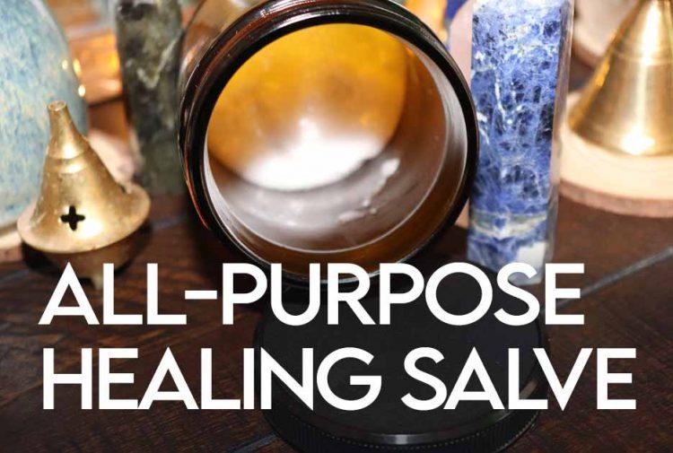 All-Purpose Healing Salve Recipe