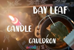 Burning Bay Leaves Wish
