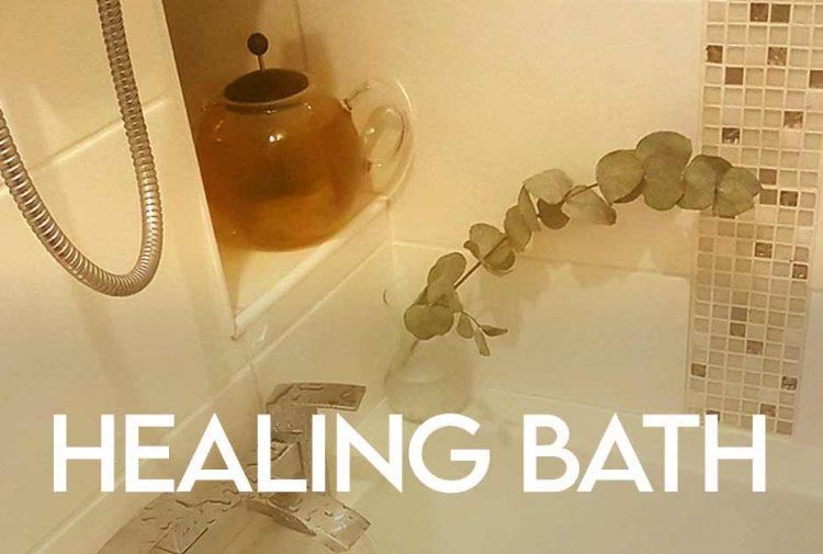 Chamomile and Eucalyptus Healing Bath Recipe