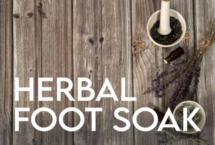 DIY Herbal Foot Soak