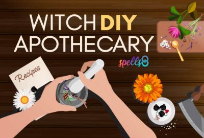 Witch Apothecary DIY