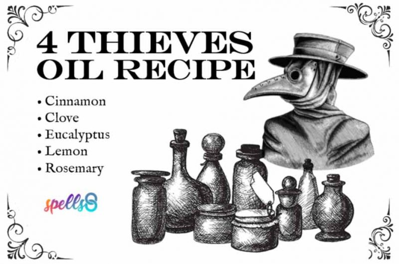 How to make Four Thieves Oil: Traditional Recipe and Uses