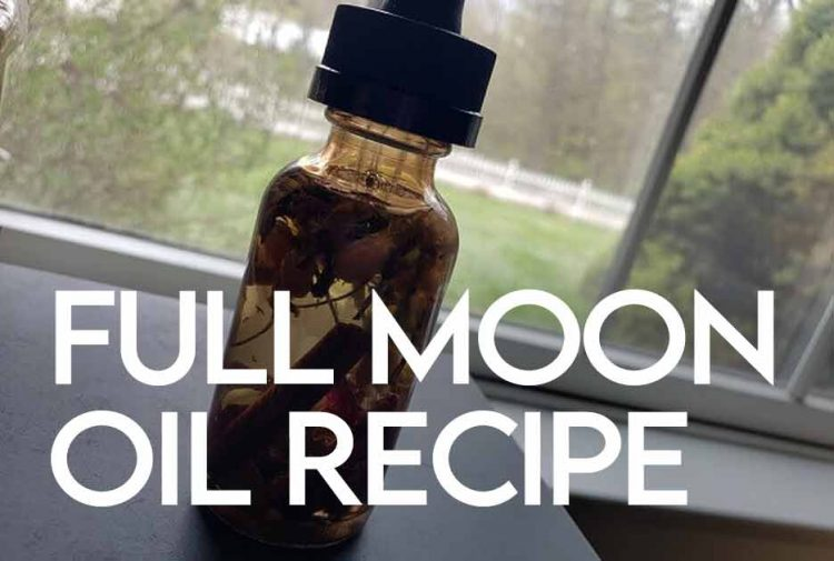 Full Moon Anointing Oil