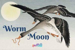 Full Worm Moon Spell