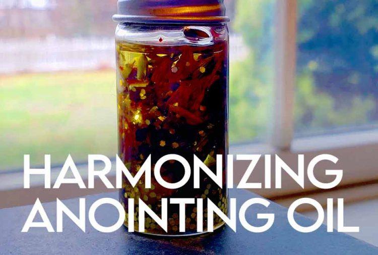 Harmonizing Anointing Oil