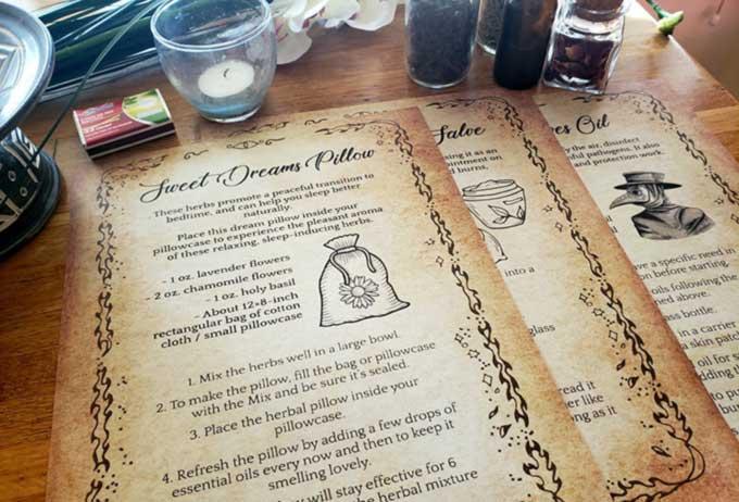 Magical Apothecary tutorial