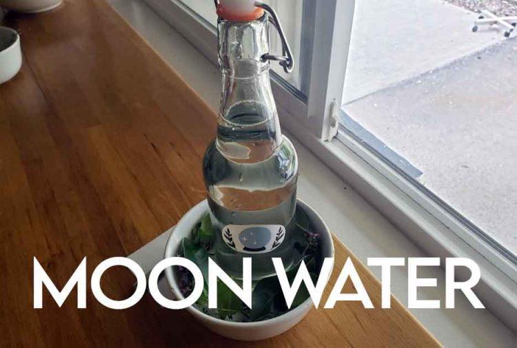 Moon Water DIY Recipe
