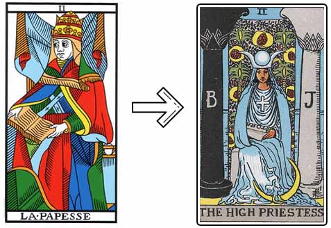 Popess to High Priestess