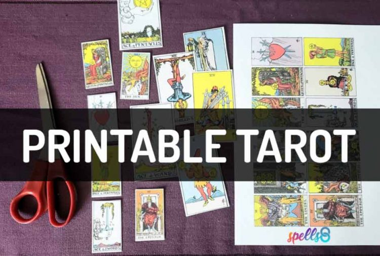 Printable Tarot Cards