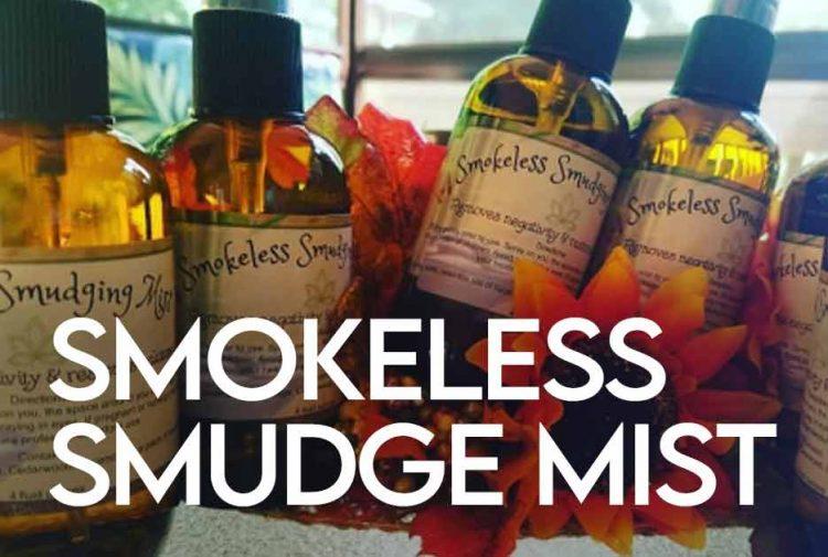 Smokeless Smudge Mist