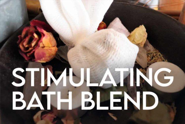 Stimulating Bath Blend Apothecary Recipe