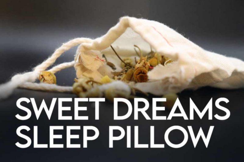 Sweet Dreams Herbal Sleep Pillow