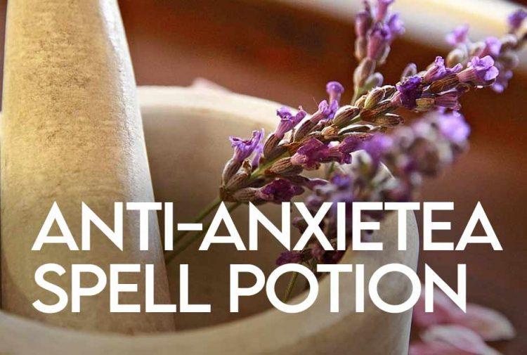 Anti anxietea spell