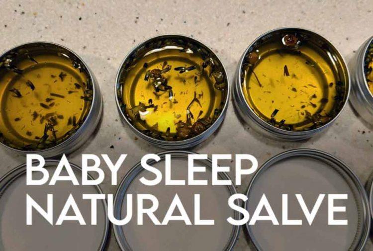 Baby Sleep Salve Recipe DIY
