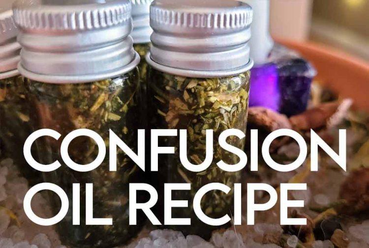 Confusion Oil DIY Recipe