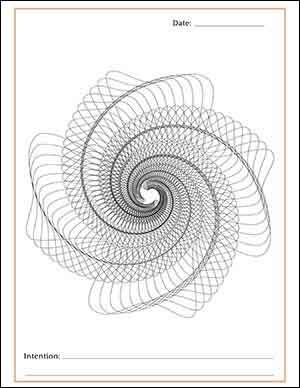 Spiral Crystal Grid