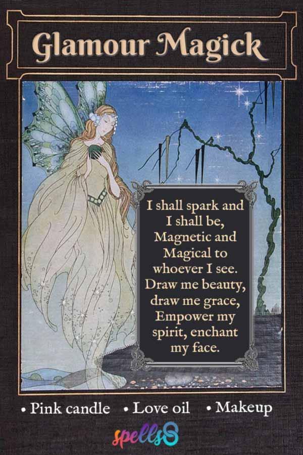 Faery Glamour Magick Chant