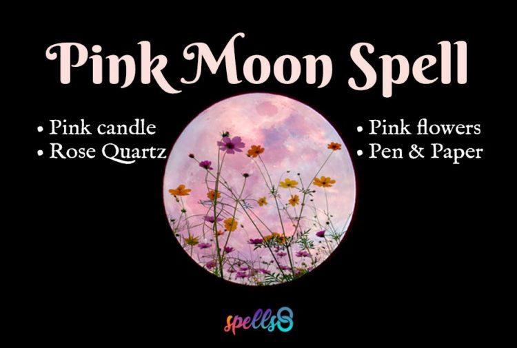 Pink Moon Ritual April