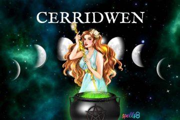 Cerridwen Celtic Goddess