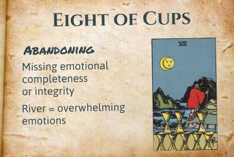 Eight of Cups Meaning