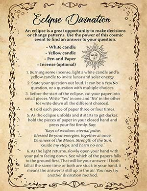 Solar Eclipse Magic Spell