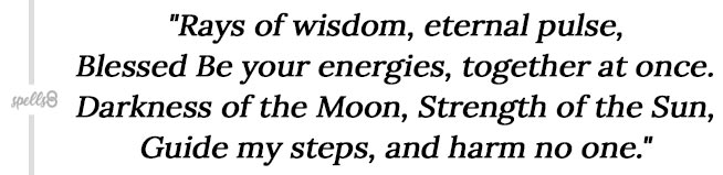 Eclipse Magic chant