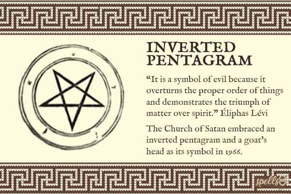 Inverted Pentagram Menaing