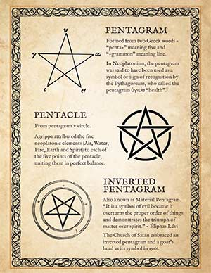 Pentagram vs Pentacle