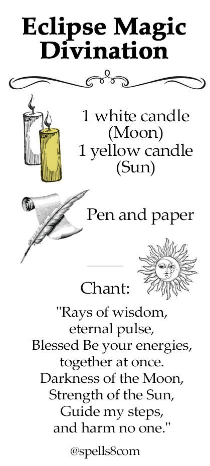 Solar Eclipse Magic Chant Spell