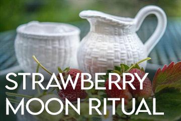 Full Strawberry Moon Manifestation