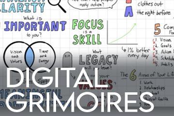 Digital Grimoire Book of Shadows Ideas