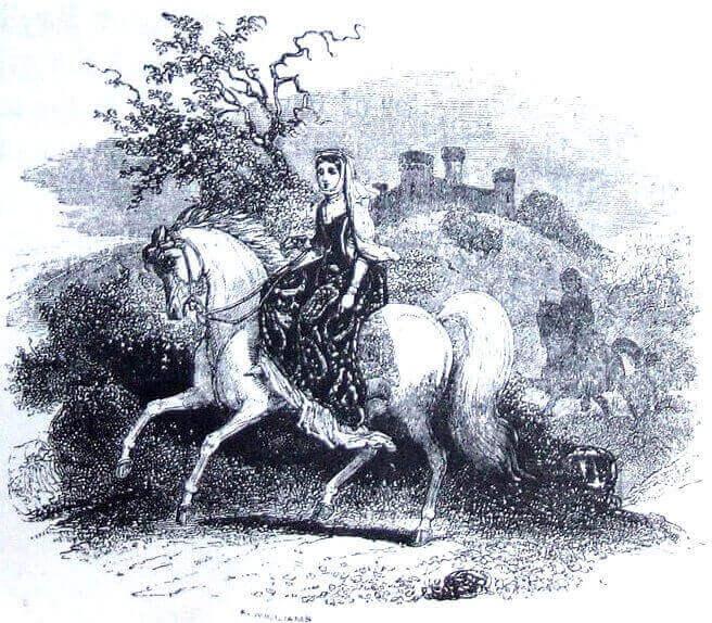 Rhiannon the Horse Goddess