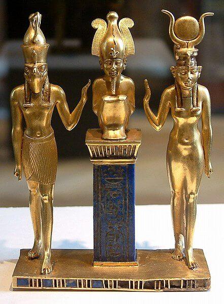 Horus, Osiris and Isis