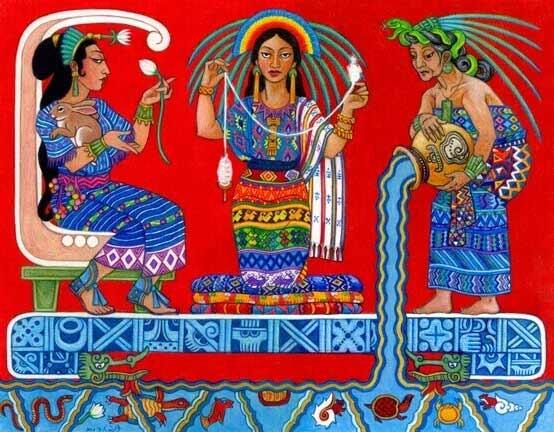 Triple Goddess Ixchel