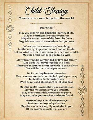 Newborn protection spell