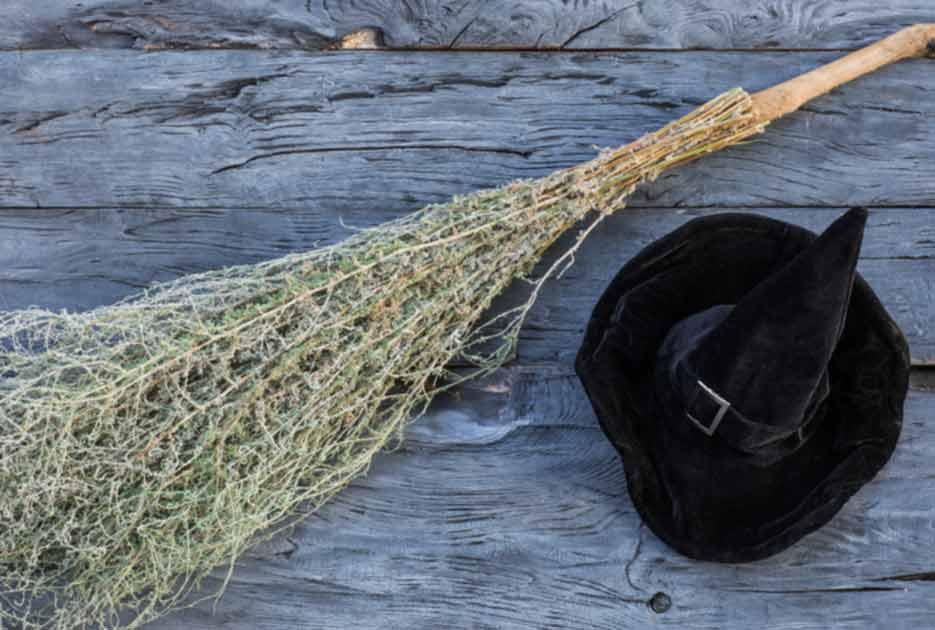 Witch Broom ritual