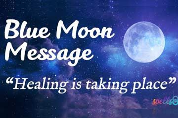 Blue Moon in Aquarius