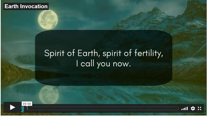 Element Earth Invocation